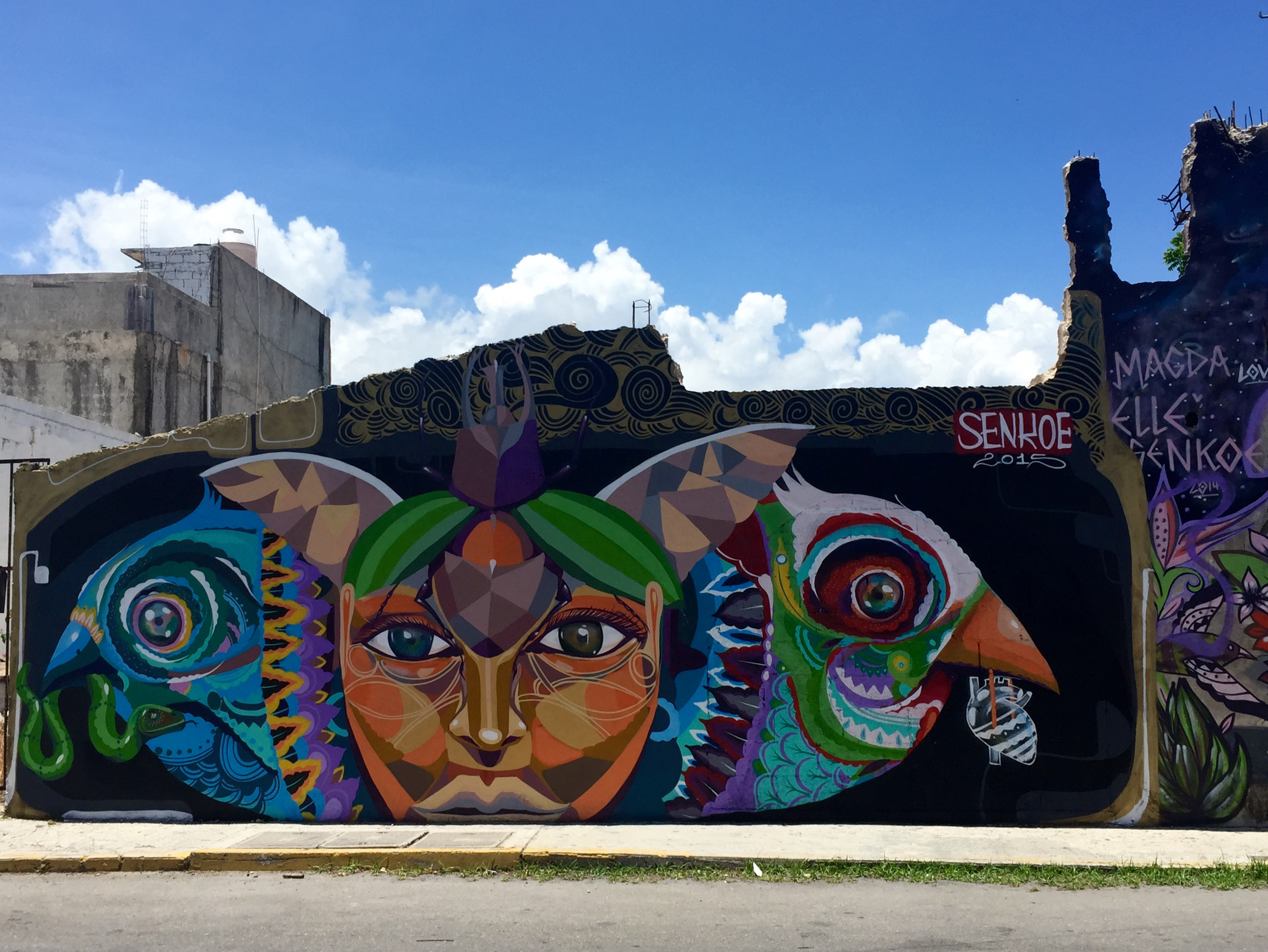 Street Art In Playa del Carmen, Mexico