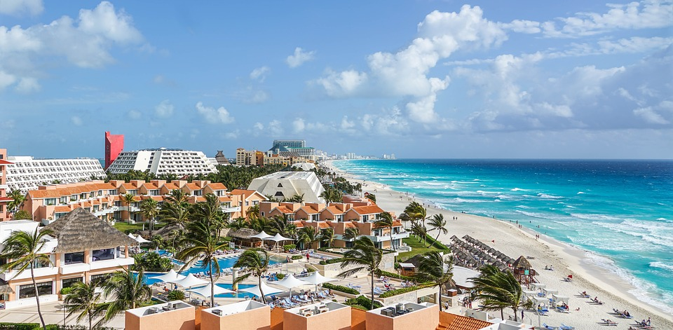 Next destination: Cancun in Mexico