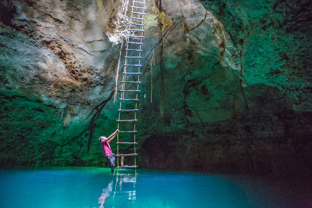 The most beautiful cenotes